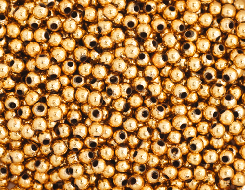 CRAFT PEARLS GOLD 3mm image