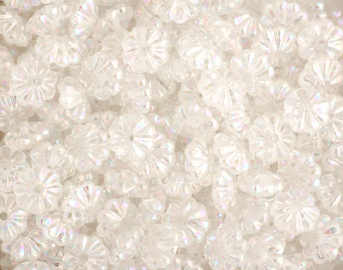 CRAFT PEARL RONDEL CRYSTAL AB 3X6MM image