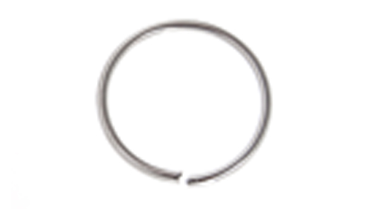 JUMP RING 20ga NICKLE 3mmID 5mmOD RND. APPROX 1050 PCS/PKG image
