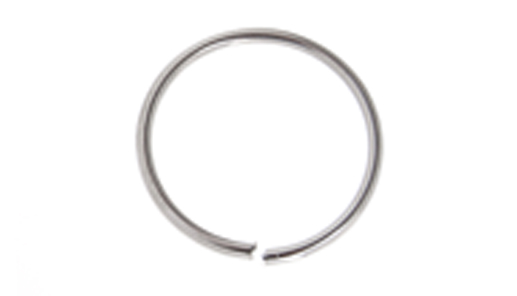 JUMP RING 18ga NICKLE 4.5mmID 7mmOD ROUND APPROX 780 PCS/PKG image