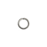 JUMP RING 16ga NICKLE 6mmID 9mmOD ROUND APPROX 550 PCS/PKG image