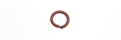 JUMP RING 16ga ANT. COPPER 4.5mmID/7mmOD APPROX 560 PCS image