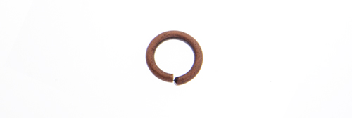 JUMP RING 16ga ANT. COPPER 5mmID/7.8mmOD APPROX 530pcs image