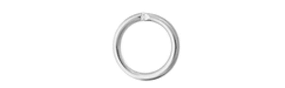 JUMP RING ROUND 4mmOD 20ga SILVER LF/NF image