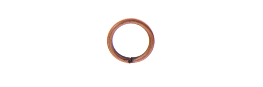 JUMP RING ROUND 7mmOD 18ga COPPER LF/NF image
