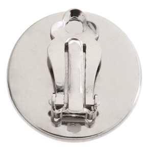 EAR CLIP IRON 24mm NICKEL image