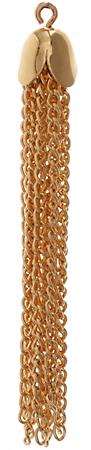 Chain Tassel 50mm Gold LF/NF image