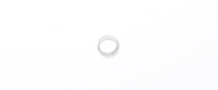CRIMP BEAD SMOOTH 2mm SILVER LF/NF image