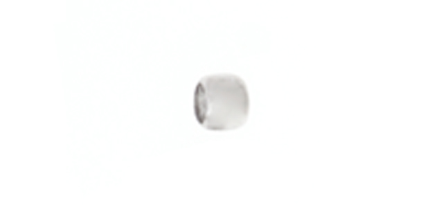 CRIMP BEAD SMOOTH 2mm RHODIUM LF/NF image