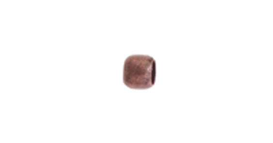 CRIMP BEAD SMOOTH 2mm ANTIQUE COPPER LF/NF image