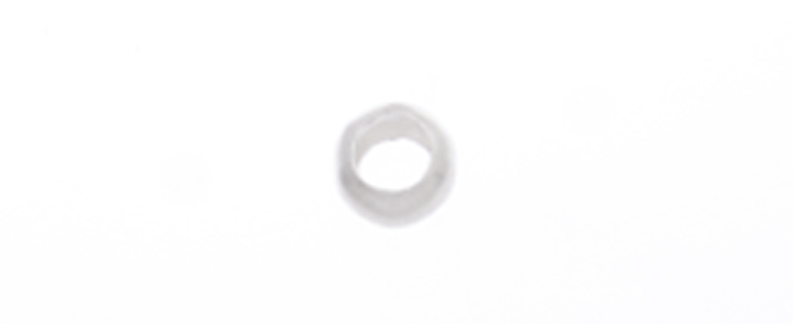 CRIMP BEAD SMOOTH 2.5mm SILVER LF/NF image