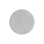 Metal Blank 24ga German Silver Round 14mm No Hole image