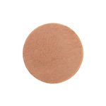 Metal Blank 24ga Copper Round 14mm No Hole image