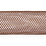 NYLON MESH TUBING 16mm BROWN image