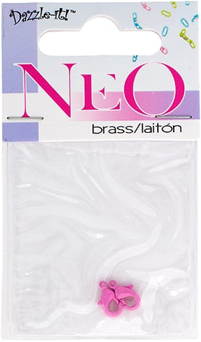NEO Lobster Clasp - Pink 9.5mm (2pcs) image