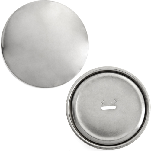 COVER BUTTON NICKEL SIZE 75 47mm image