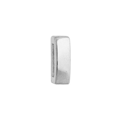 Slider - Band Smooth (20pcs) 5mm Silver LF/NF image