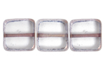 F/P 10x10mm SQUARE CRYSTAL LAMP/WINDOW BEADS image