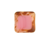 F/P 15x15mm Cut Square Pink Marble Edge image