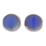 F/P 12mm Cut Round Purple Silk Marble Edge image