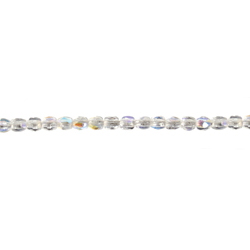 F/P 2mm ROUND BEADS STRUNG CRYSTAL AB image
