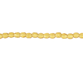 F/P 2mm ROUND BEADS STRUNG TRANSPARENT TOPAZ image