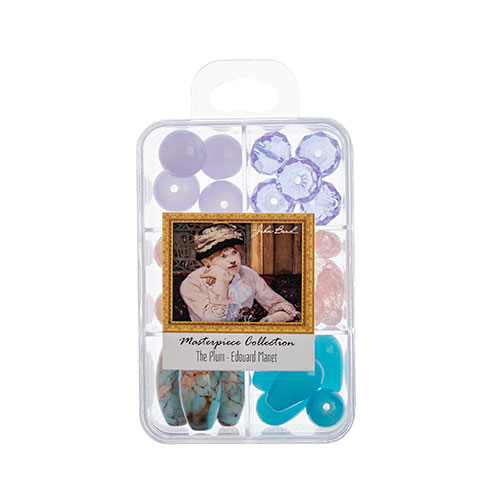 Masterpiece Collection Glass Bead Box Mix apx85g The Plum - Edouard Manet image