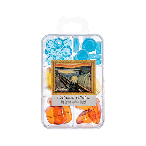 Masterpiece Collection Glass Bead Box Mix apx85g The Scream - Edvard Munch image