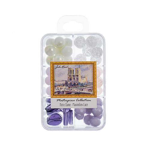 Masterpiece Collection Glass Bead Box Mix apx85g Notre Dame - Maximilien Luce image