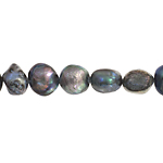 Freshwater Pearl Fancy Shape 6.5mm Grey 16in (aprx 25g) image