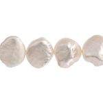Freshwater Pearl Fancy Shape 9.5mm White 16in (aprx 48g) image