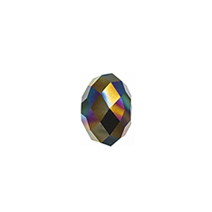 Swarovski Bead 5040 Briolette 8mm Crystal Rainbow Darkx2 36pcs image