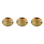 Swarovski Bead 5051 Mini Oval 8x6mm Bronzeshade Crystal 288pcs image