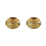 Swarovski Bead 5051 Mini Oval 10x8mm Bronzeshade Crystal 144pcs image