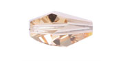 Swarovski Bead 5203 Polygon 12x8mm LCTP Light Colorado Topaz 144pcs image