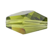 Swarovski Bead 5203 Polygon 18x12mm Olivine 72pcs image