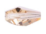 Swarovski Bead 5203 Polygon 18x12mm LCTP Light Colorado Topaz 72pcs image