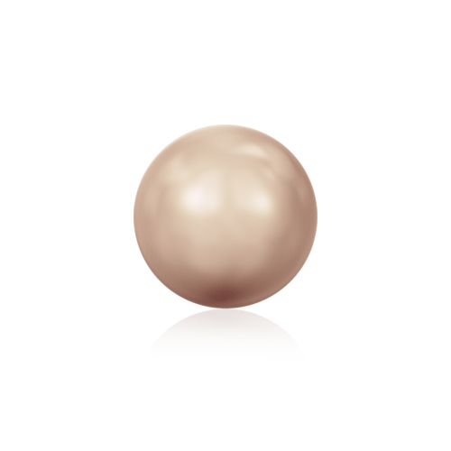 Swarovski Bead 5810 Crystal Pearl 2mm Rose Gold 200pcs image