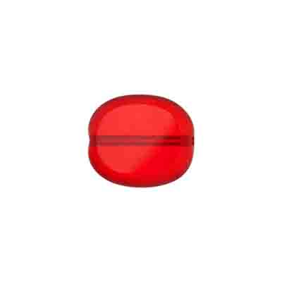GLASS CUT BEAD FLAT OVAL 14/12 STRUNG-SIAMRUBY(old#27001295s) image