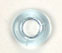 GLASS BEAD DONUT 9MM TR.PALE BLUE image