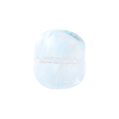 Glass Bead Pillow 15x17mm Transparent Crystal Light Blue image