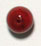 GLASS BEAD 7mm MARBLE LT.RED STRUNG (X1)75pcs. image