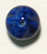 GLASS BEAD 10MM NUGGETS LAPIS MATRIX STRUNG image