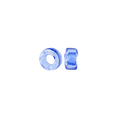 GLASS RINGS 32/0 TR.BLUE DYED SOLGEL image