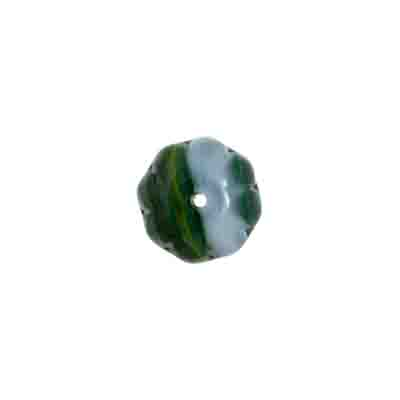 GLASS PRESSED BEADS LOOSE 8x12mm image
