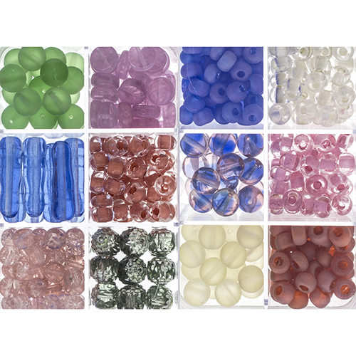 Czech Glass Beads - SOFT DELIGHT apx200g image