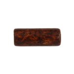 CERAMIC BEAD CYLINDER 7.5/21MM BROWN image