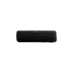 CERAMIC BEAD CYLINDER 17x5MM BLACK image