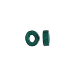 CERAMIC BEAD WASHER 6x2.5mm TEAL image