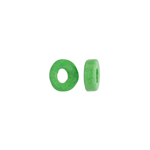 CERAMIC BEAD WASHER 6x2.5mm NEON GREEN image